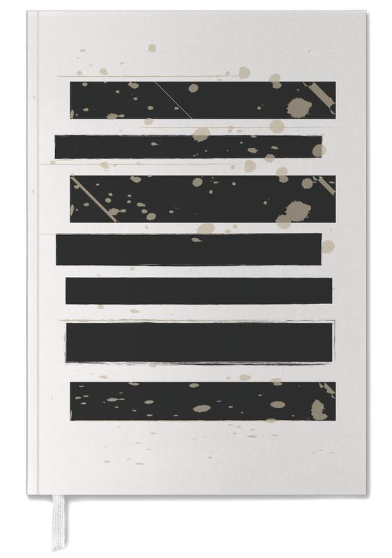 Smudged Stripes Personal Planner