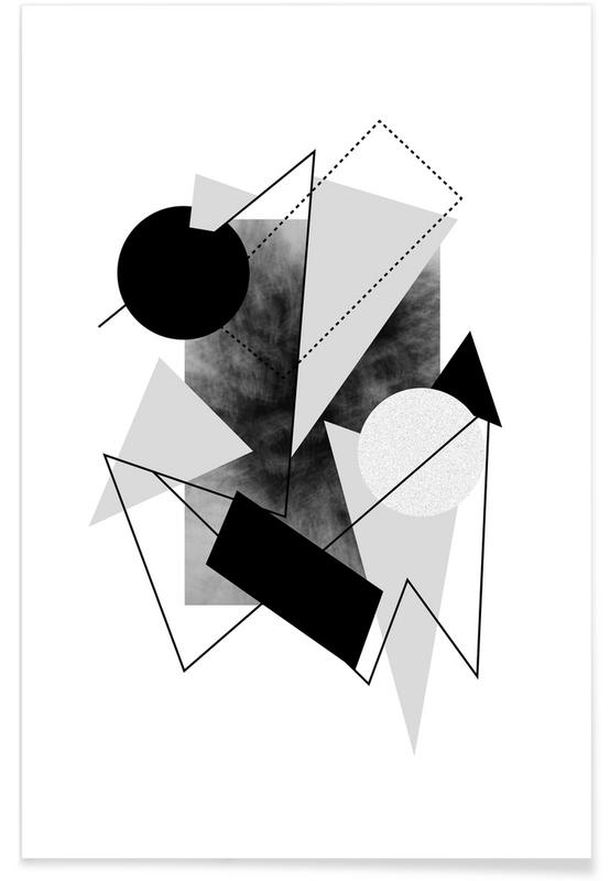 Zwart en wit, Greys poster