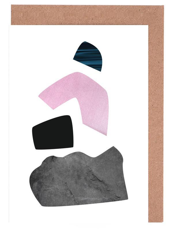 Happy Pink -Grußkarten-Set