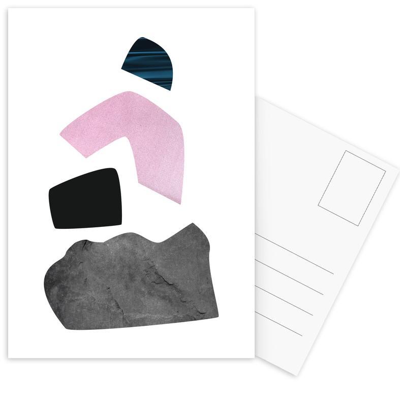Happy Pink Postcard Set