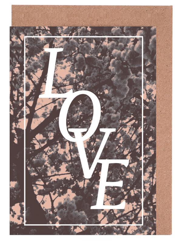LOVE Greeting Card Set