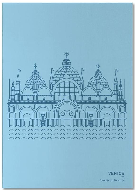 Venise, Monuments et vues, Venice bloc-notes