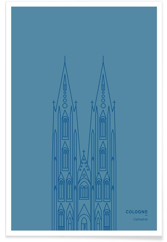 Cologne Cathedral poster