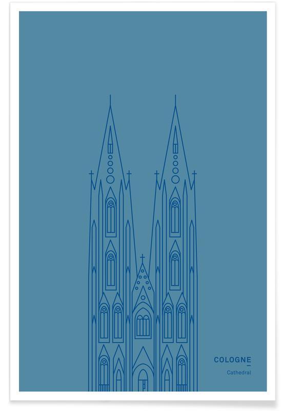 Kölner Dom -Poster
