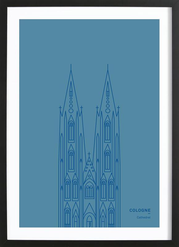 Cologne Framed Print