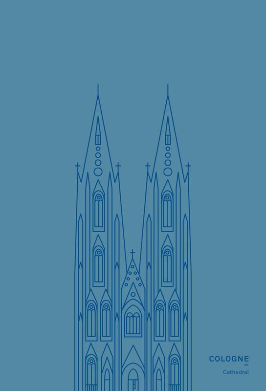 Cologne -Acrylglasbild