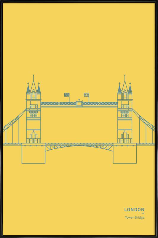 London Framed Poster