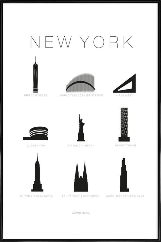 New York Framed Poster