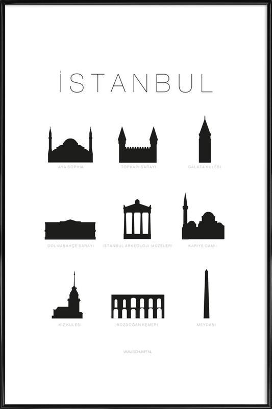 Istanbul -Bild mit Kunststoffrahmen
