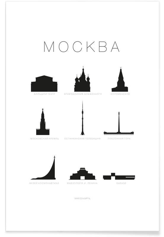 Mockba Poster