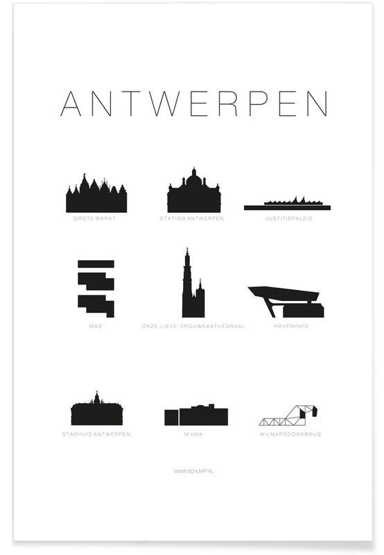 Antwerpen Poster