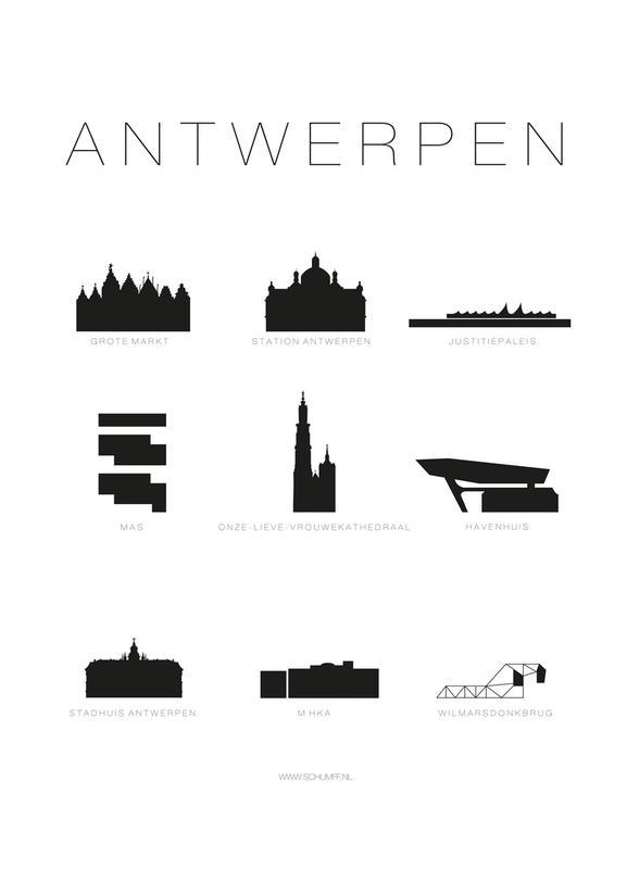 Antwerpen Canvas Print