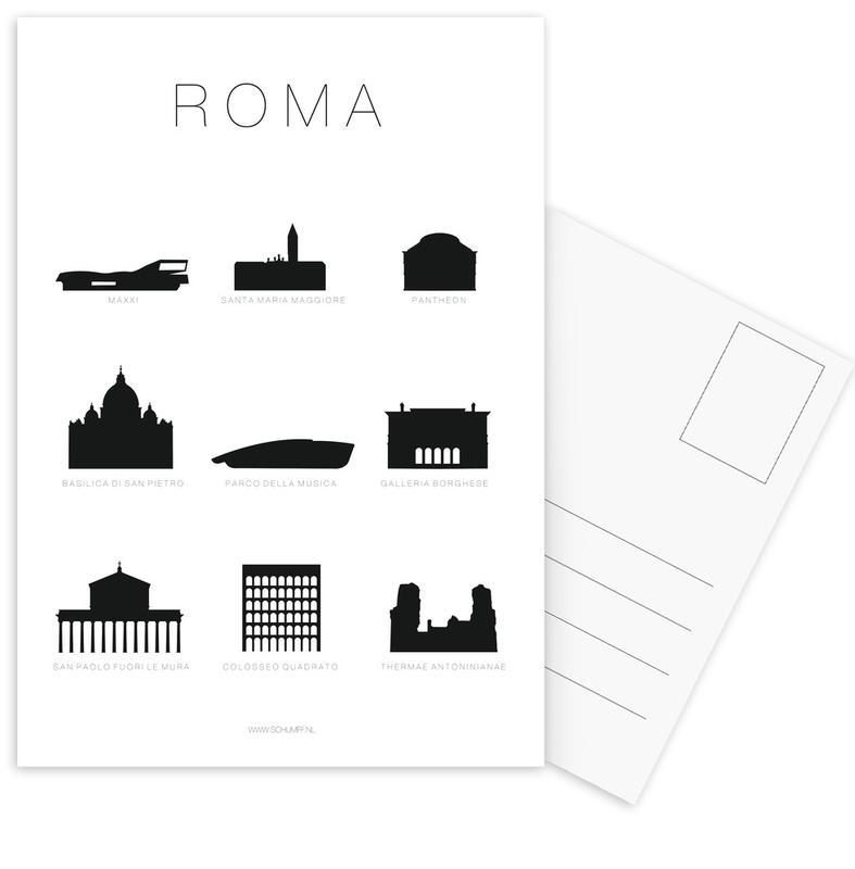 Roma -Postkartenset