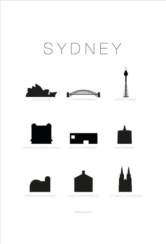 Sydney Aluminium Print