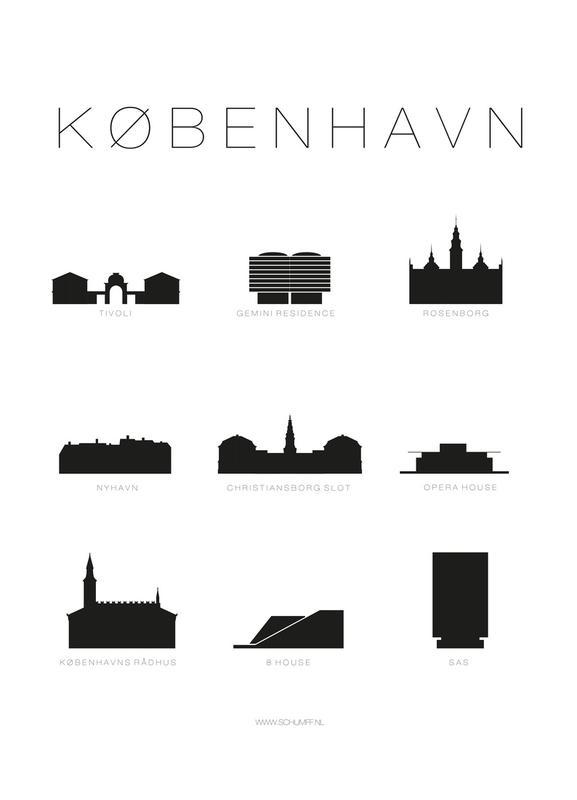 København Canvas Print
