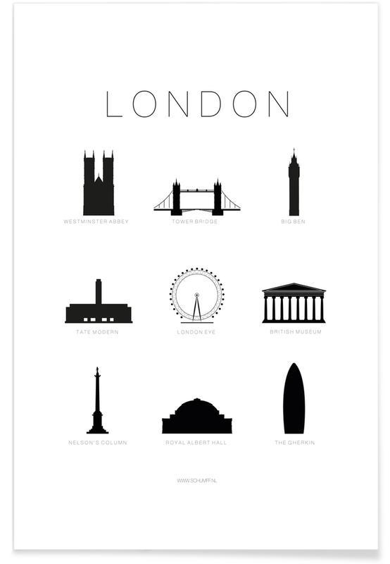 London affiche