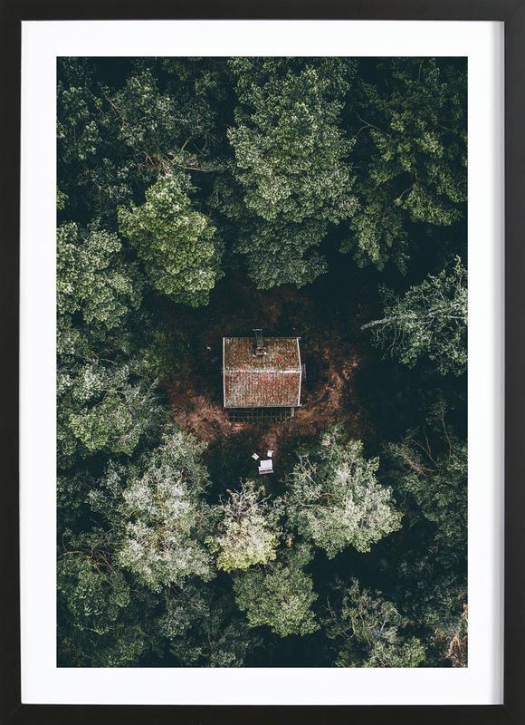 Hidden Gem affiche sous cadre en bois