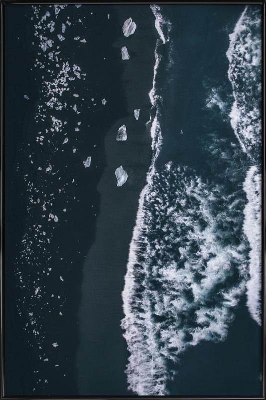 Diamond Beach 1 Framed Poster
