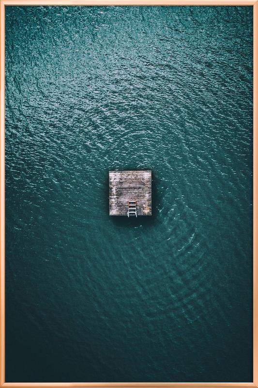 Minimal Poster in Aluminium Frame