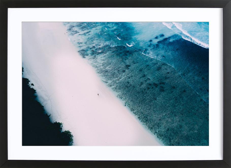 Tropical 5 -Bild mit Holzrahmen