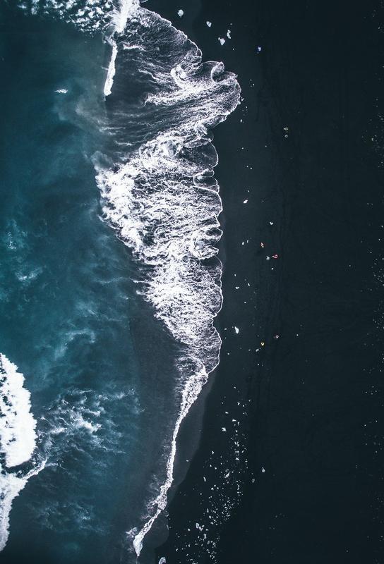 Diamond Beach 2 -Alubild