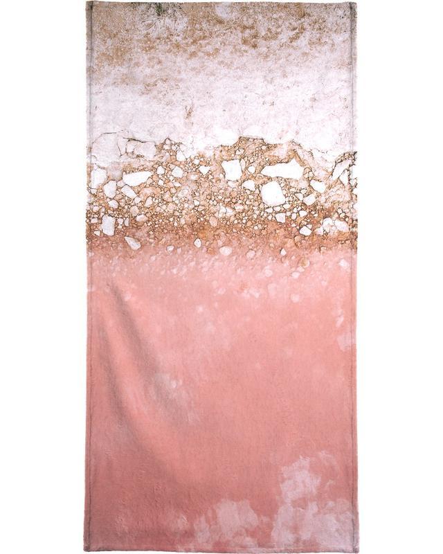 Red Lagoon Bath Towel