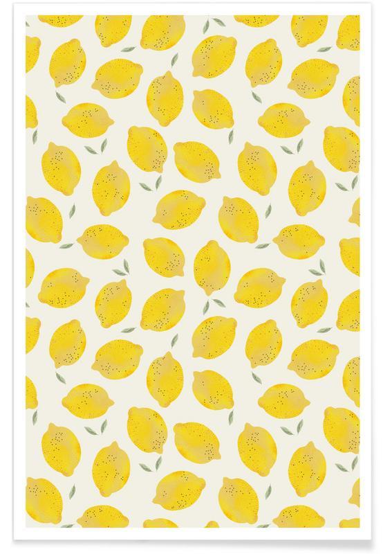 Citroner, Lemon Plakat