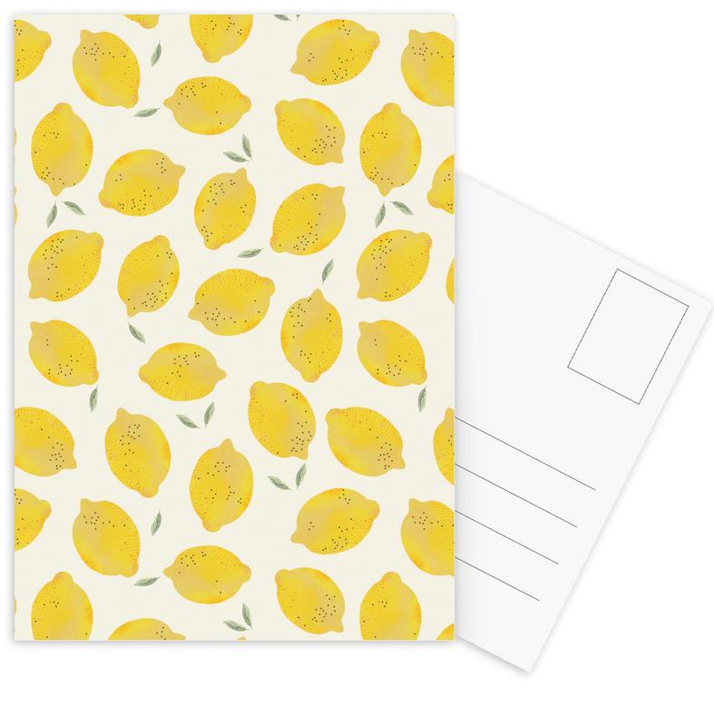 Lemon Postcard Set