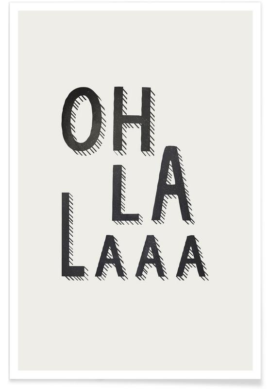 Schwarz & Weiß, Oh La Laaa -Poster