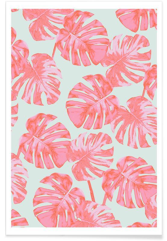 Feuilles & Plantes, Palm affiche