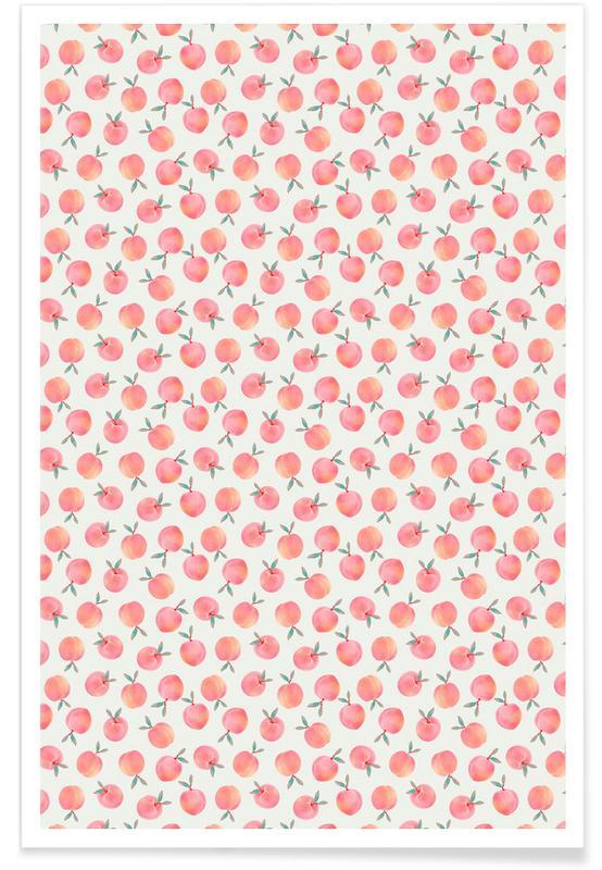 , Peach -Poster