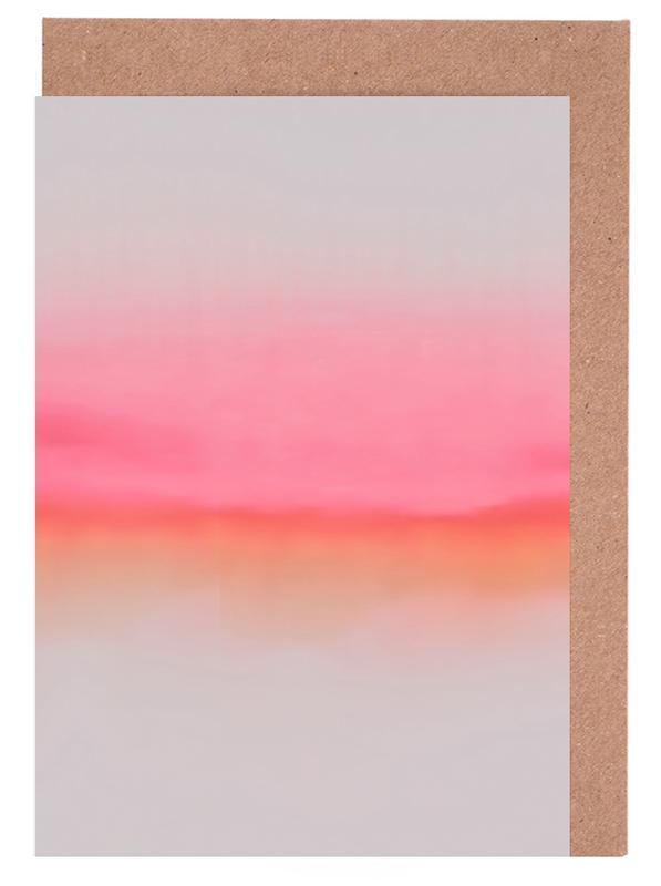Pink Horizon -Grußkarten-Set