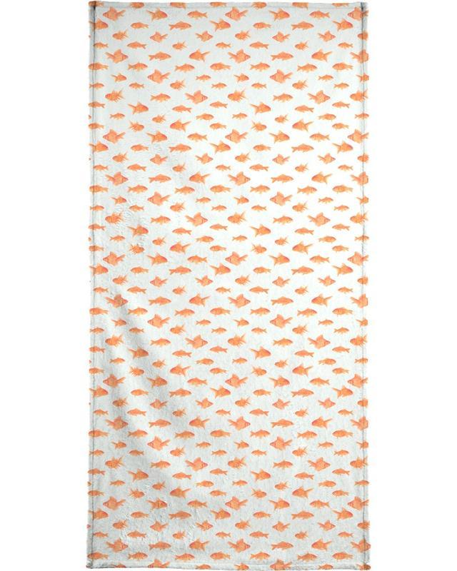 Goldfish -Handtuch