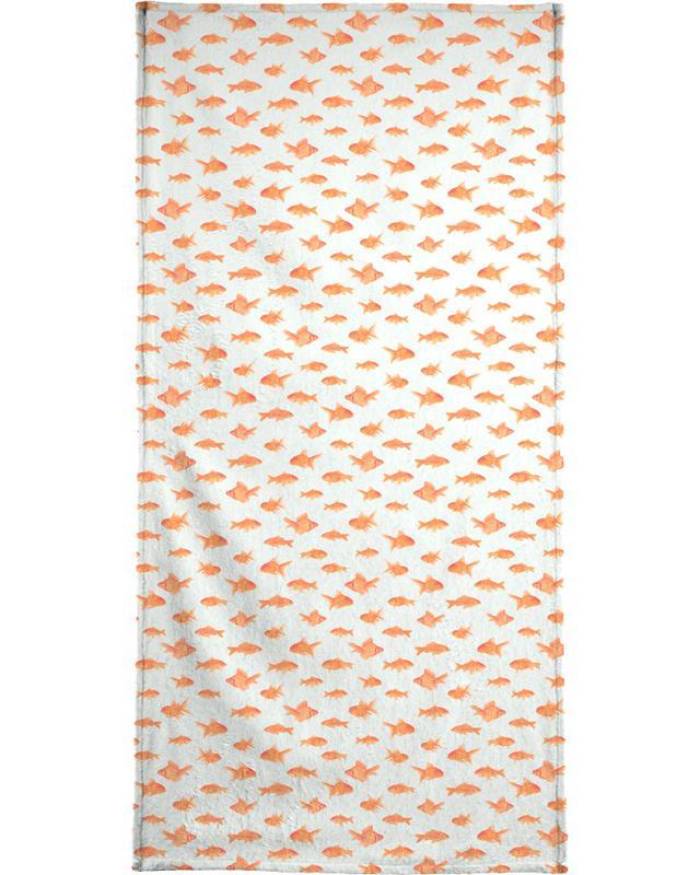 Goldfish serviette de plage