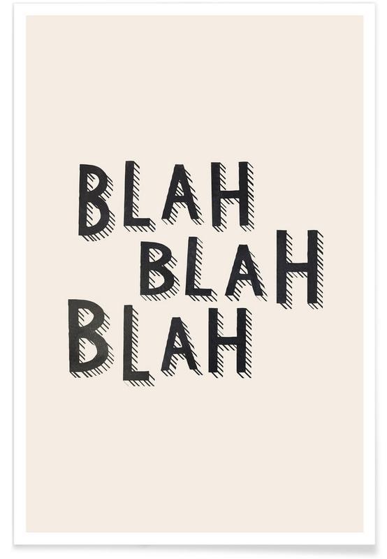 , Blah Blah Blah -Poster
