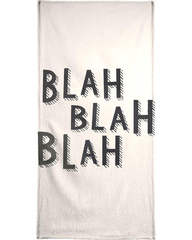 Blah Blah Blah serviette de bain