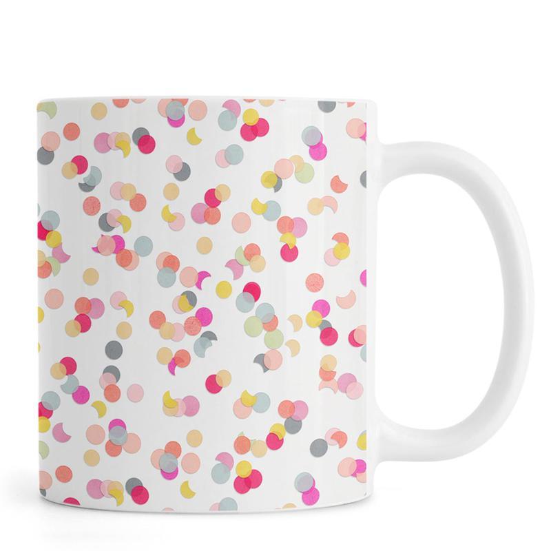 Confetti Mix Pink -Tasse