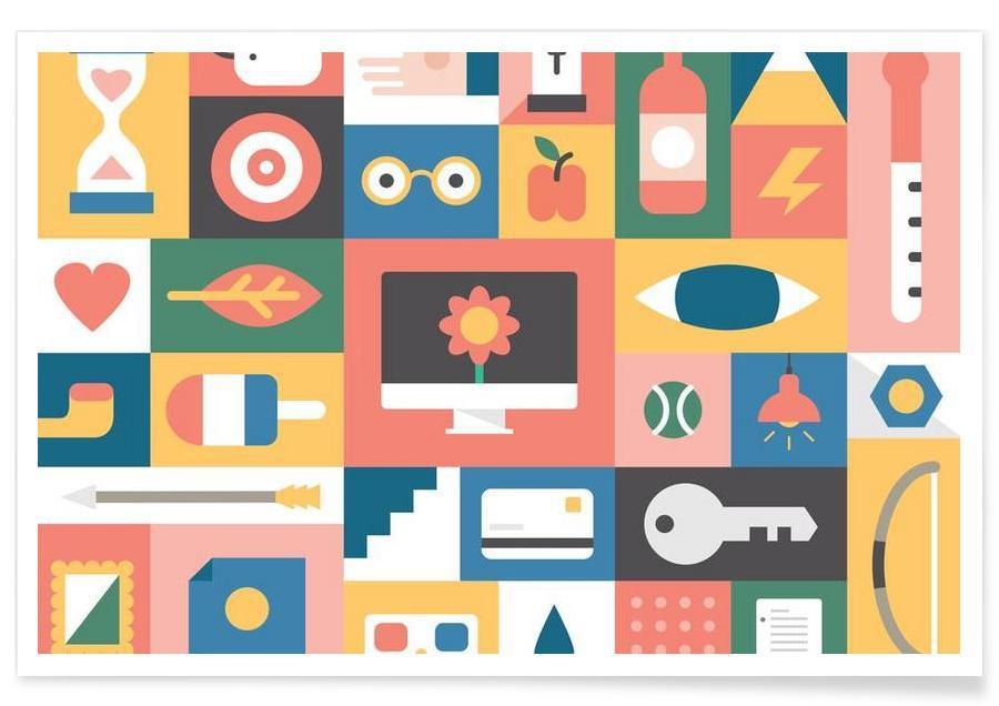 Symboles, Recent affiche