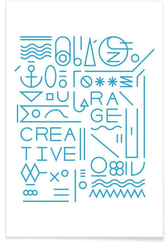 Creative affiche