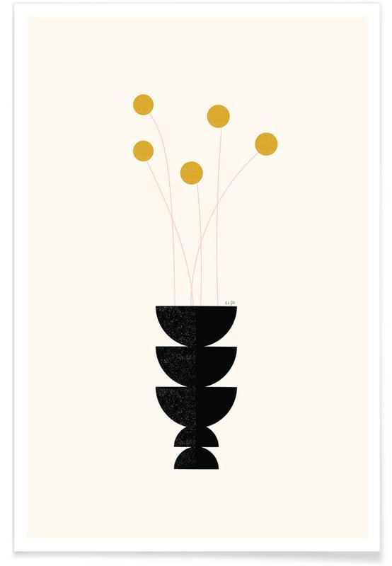 , Flower Vase -Poster