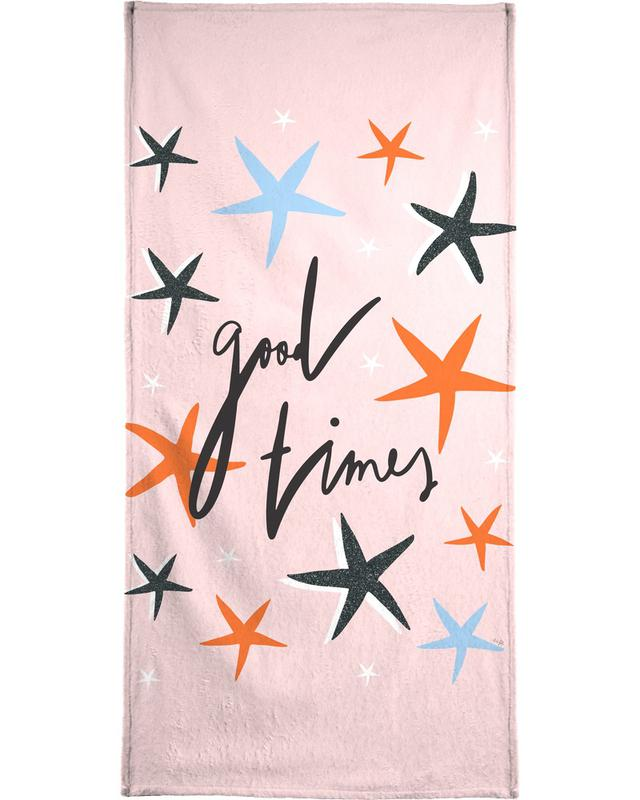 Good Times Bath Towel