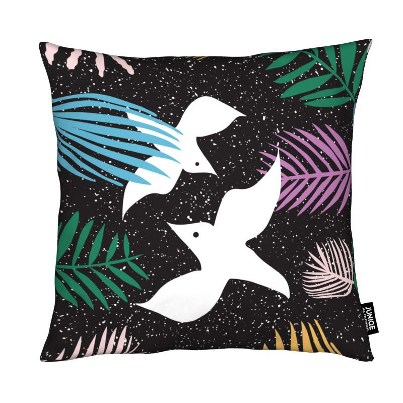 Birds of Paradise coussin