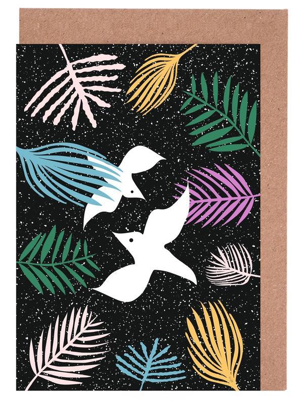 Colombes, Birds of Paradise cartes de vœux