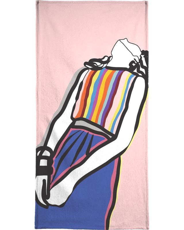 Illustrations de mode, Relaxed serviette de plage