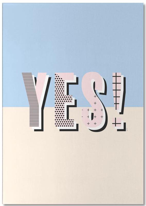 Yes -Notizblock