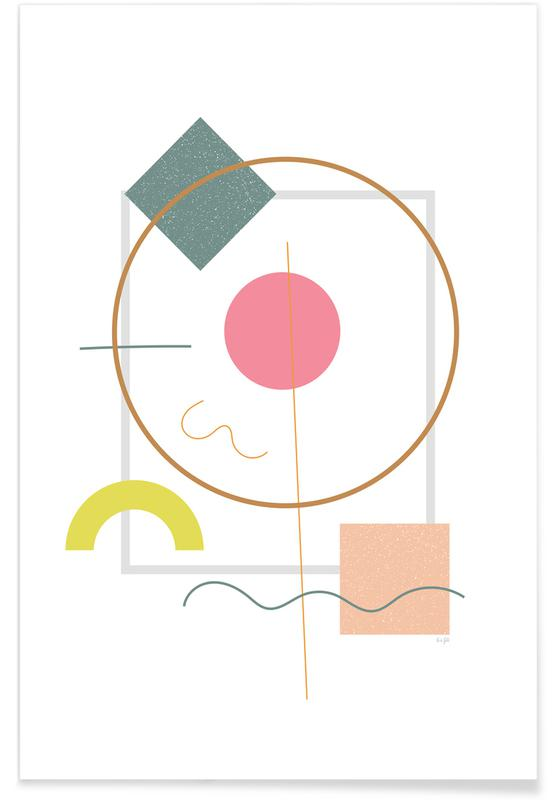 Abstract Flower -Poster