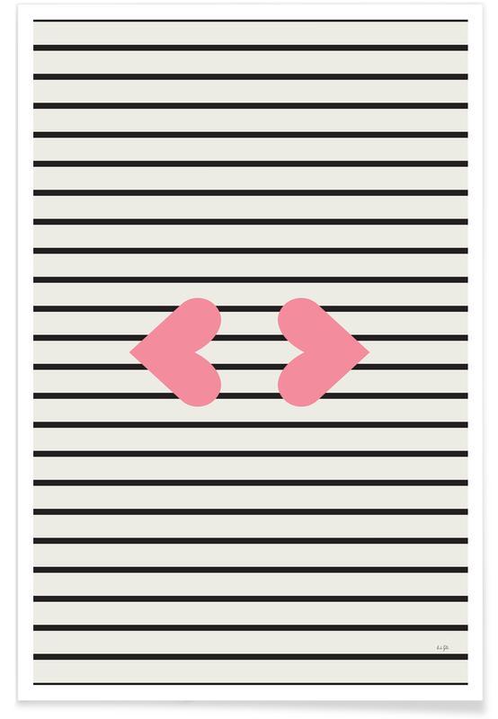 Harten, Kiss poster
