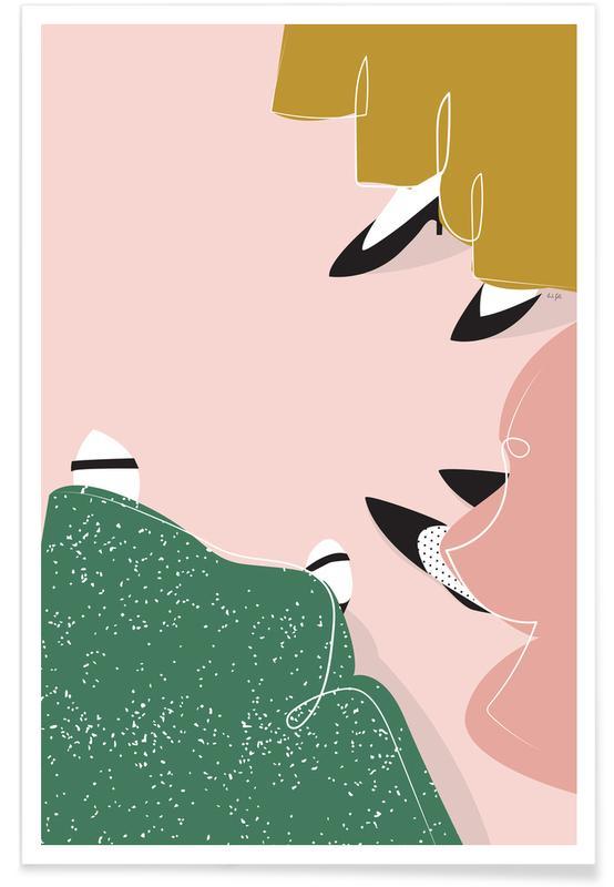 Ballroom Girls -Poster