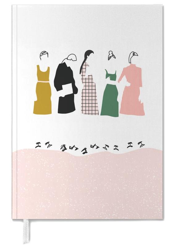 Groupes, Illustrations de mode, Fashion Line agenda