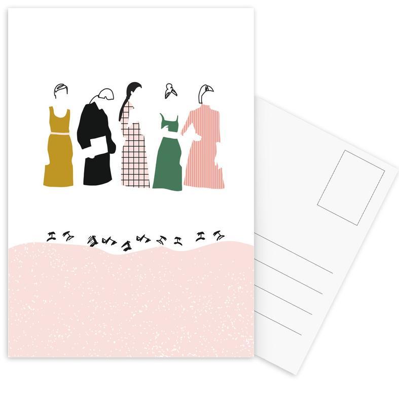 Fashion Line Postcard Set